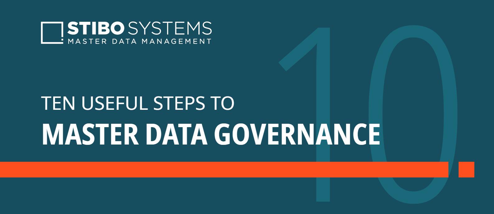 Ten steps to master data governance