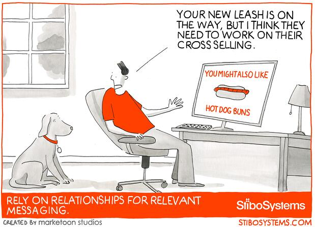 Irrelevant offers because of poor customer data make a bad customer experience