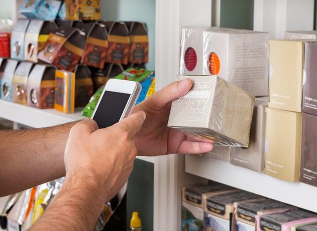 Customer Reading Product Data