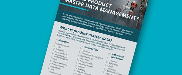 ¿Qué es la Gestión de Datos Maestros de Producto? Es la evolución de la gestión de información del producto